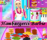 Hamburgerci Barbie Oyunu